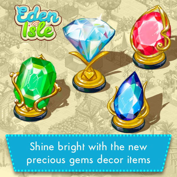 new gems shine bright